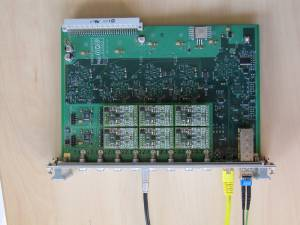 ADC board with 16 channels