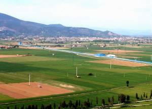 Virgo aerial view: 3 kilometer tube